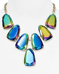 "Kendra Scott - Harlow Iridescent Necklace, 18"" - Lyst"