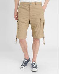 Diesel Khaki P Airal Cargo Shorts brown - Lyst