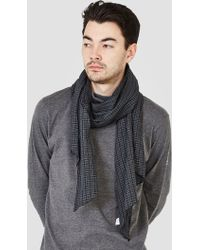 Engineered Garments - Small Check Long Scarf Green & Black Small - Lyst