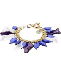 Matthew Williamson Bracelet blue - Lyst