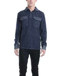 NSF Clothing Bayle Sweater blue - Lyst