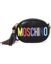 Moschino Logo Shoulder Bag - Lyst