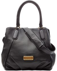 Marc By Marc Jacobs New Q Fran Leather Bag - Lyst