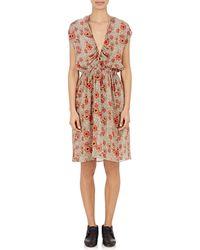 Etoile Isabel Marant Slaze Blouson Dress multicolor - Lyst
