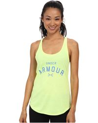 Under Armour Graphic Tank - Lyst