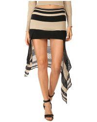 Vivienne Westwood Gold Label Stripy Skin Skirt - Lyst
