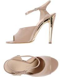 Chloé Brown Sandals - Lyst