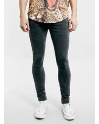 LAC - Washed Bk Spray On Skinny Jeans - Lyst