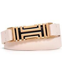 Tory Burch For Fitbit Double Wrap Bracelet - Lyst