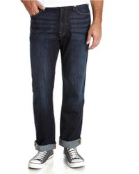Lucky Brand 481 Relaxed Straight Leg Jeans - Lyst