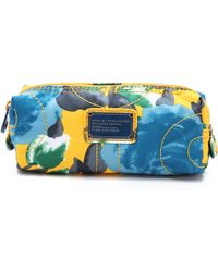 Marc By Marc Jacobs Pretty Nylon Jerrie Rose Narrow Cosmetic Case - Yellow Jacket - Lyst