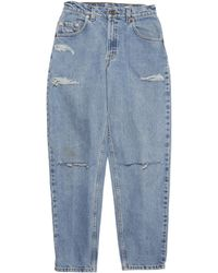 Denim Refinery Vintage Levis The Double Slit Boyfriend Jeans - Lyst
