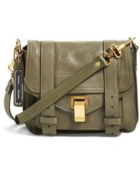 Proenza Schouler Women'S 'Ps1' Crossbody Pouch - Green - Lyst