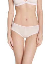 Olympia Theodora - Stretch Modal Mini Boyshorts - Lyst