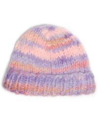 Michael Kors Space-dyed Mohair Hat - Lyst