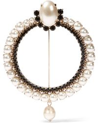 Givenchy - Brooch In Gold-tone - Lyst