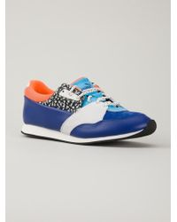 Alexander McQueen x Puma Panelled Sneakers - Lyst