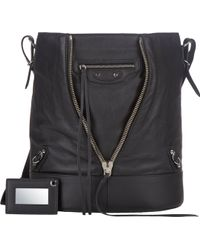 Balenciaga Papier Crossbody Bucket Bag - Lyst