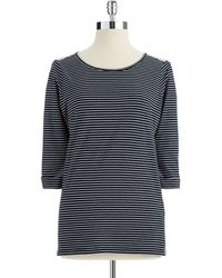 Not Your Daughter's Jeans Striped Top - Lyst