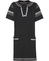 A.P.C. - Silk Knitted Dress - Lyst