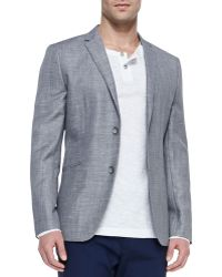 Theory Two-Button Jacket - Lyst