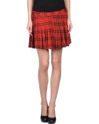 Emily The Strange - Mini Skirt - Lyst