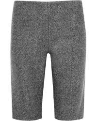 Alexander Wang Woolblend Shorts - Lyst