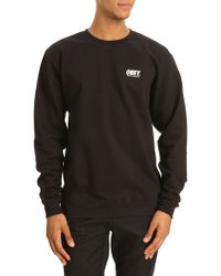 Obey New York Capsule Collection Roundneck Sweater - Lyst
