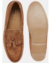 ASOS - Tassel Loafers In Suede - Lyst