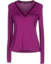 Etro T-Shirt purple - Lyst