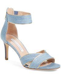 Diane von Furstenberg | Ragusa Ankle-Strap Sandals | Lyst