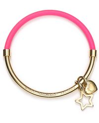 Marc By Marc Jacobs - Heart Star Hula Hoop Bangle - Lyst