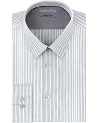 Calvin Klein Extreme Slim Fit Gradient Stripe Dress Shirt - Lyst