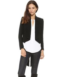 Haute Hippie Jacket with Tails  Black - Lyst