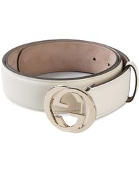 Gucci Logo Belt - Lyst