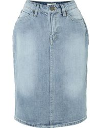 Linea Weekend Denim Skirt - Lyst