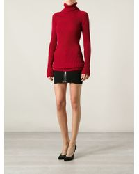 Anthony Vaccarello - Ribbed Sweater - Lyst
