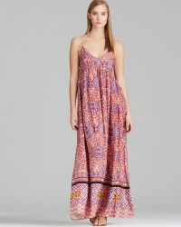 MINKPINK Maxi Dress Tile Printed - Lyst