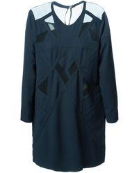 Iro Sheer Panelled Dress - Lyst