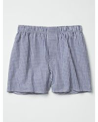 Gap Chambers Gingham Boxers - Lyst