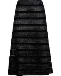 DKNY 3/4 Length Skirt black - Lyst