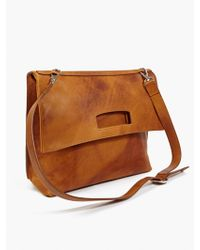 Maison Martin Margiela 11 Mens Vintage Effect Leather Satchel - Lyst