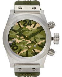Brera Orologi | Bretc4530 Silver-Tone & Camouflage Watch | Lyst