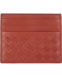 Bottega Veneta Intrecciato Flat Card Case - Lyst