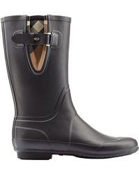Burberry Chandler Rubber Rain Boots - Lyst