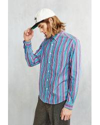 BDG - '90s Bold Stripe Button-down Shirt - Lyst