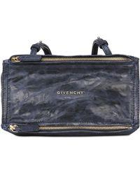 Givenchy Mini Pandora Washed Leather Shoulder Bag - Lyst
