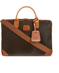 Bric's Life Large Two-handle Briefcase - Brown