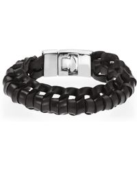 B5 Line Nyc - Black Vertebrae Bracelet - Lyst