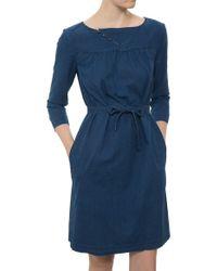 A.P.C. Janis Dress blue - Lyst